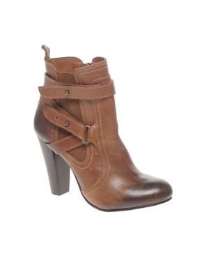 Image 1 ofDune Knick Knack Stacked Heel Chelsea Boot