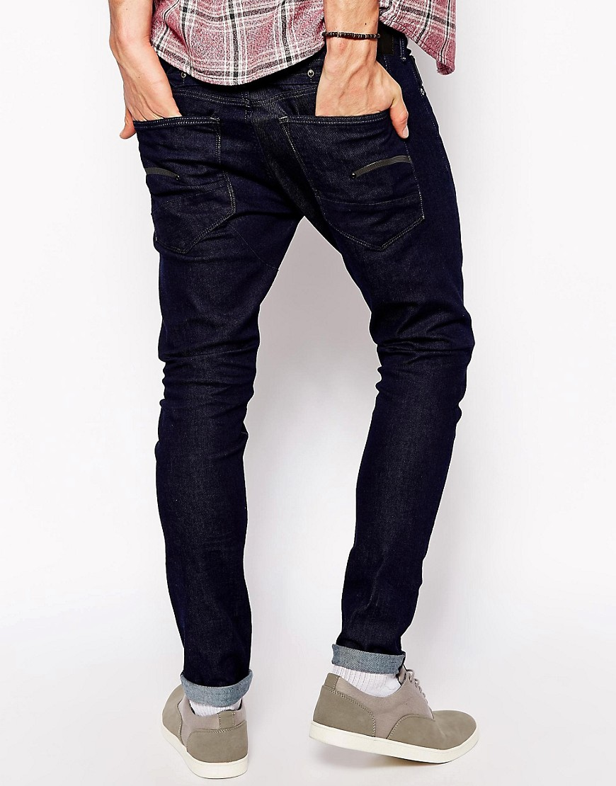 g star g star herren slim fit jeans at asos. Black Bedroom Furniture Sets. Home Design Ideas
