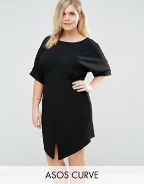 ASOS CURVE Mini Wiggle Dress