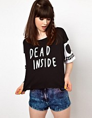 Lazy Oaf Dead Inside T-Shirt
