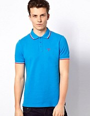 Esprit Tipped Pique Polo