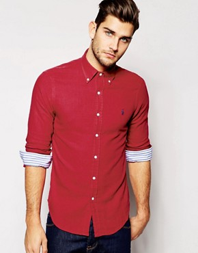 Polo Ralph Lauren Shirt in Slim Fit Double Faced Cotton