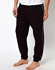 Boss Black Cuffed Lounge Pants