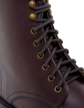 Image 2 ofASOS Leather Boots With Leather Sole