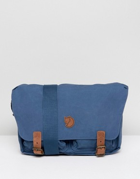 Fjallraven Ovik Messenger Bag in Navy 10L