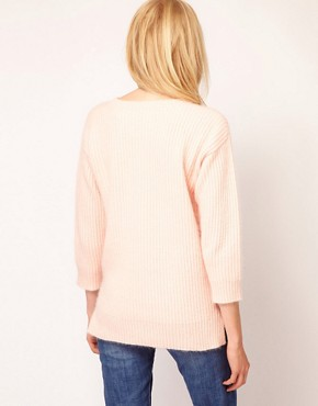 Image 2 ofBoutique by Jaeger Flora Angora Sweater