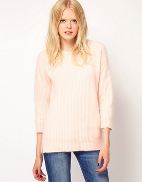 Image 1 ofBoutique by Jaeger Flora Angora Sweater