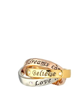 Image 2 ofDisney Couture Believe Rings