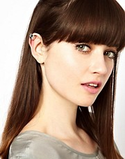 Maria Francesca Pepe Spiked Ear Cuff