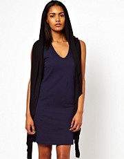 Unconditional Hooded Waistcoat Dress