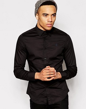 G-Star Shirt Slim Stretch Poplin