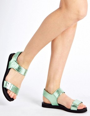 Image 3 ofASOS FILM STAR Flat Sandals