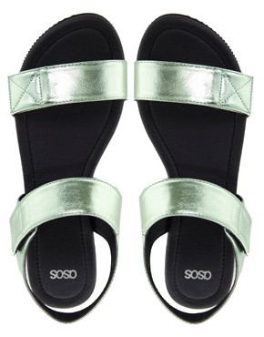 Image 4 ofASOS FILM STAR Flat Sandals