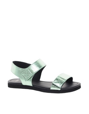 Image 1 ofASOS FILM STAR Flat Sandals