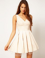 ASOS Prom Dress with Lace Top