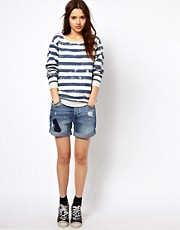 River Island Boyfriend Denim Short
