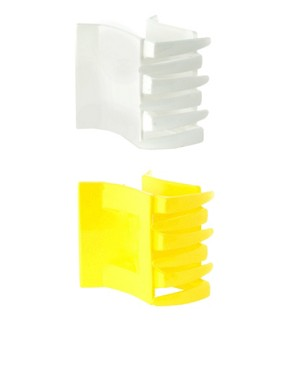 Image 1 ofASOS Pack of Two Square Hair Claw Clips