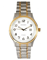 Sekonda Two Tone Bracelet Watch