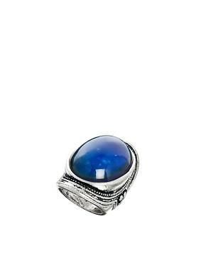 ASOS Large Stone Mood Ring