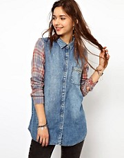 River Island Boyfriend Check Shirt