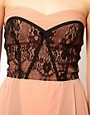 Image 3 of TFNC Dress with Lace Bodice and Hi Lo Skirt