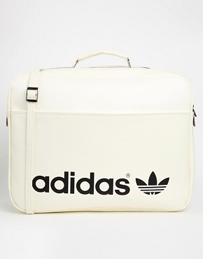 adidas Originals Airliner Bag in Cream