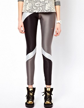 Image 4 ofNike Block Print Leggings
