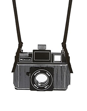 Image 1 ofASOS Camera Pendant Necklace