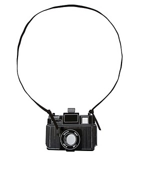Image 2 ofASOS Camera Pendant Necklace