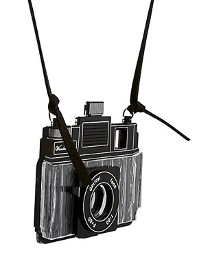 Image 4 ofASOS Camera Pendant Necklace
