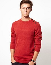 Samsoe Button Jumper