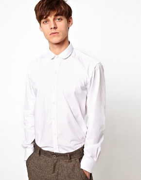 Image 1 of Selected Shirt with Penny Collar