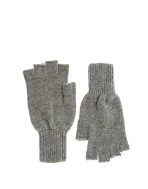 Image 1 of Johnstons Cashmere Fingerless Gloves