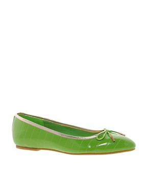Image 1 ofTed Baker Iveey Flat Bow Shoes