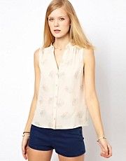 NW3 Daisy Cat Blouse