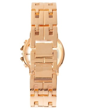 Image 2 ofRiver Island Rose Gold Chronograph Watch