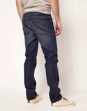 Image 2 ofASOS Slim Jeans In Dark Wash