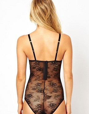 Image 2 of ASOS Boudoir Underwired Hook and Eye Back Body