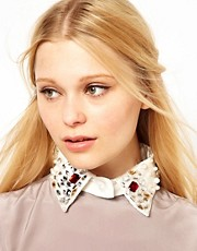 Johnny Loves Rosie Embellished Collar