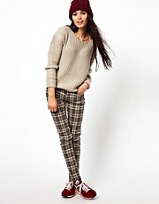 Bellfield Check Skinny Pant