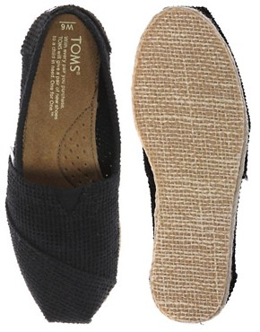 Image 3 ofTOMS Classic Freetown Espadrille Flat Shoes