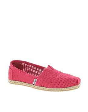 Image 1 ofTOMS Classic Freetown Espadrille Flat Shoes