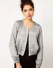 ASOS Scoop Neck Bomber Jacket