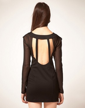 Image 2 ofFinders Keepers Dress With Cut Out Bodice