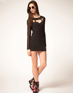 Image 4 ofFinders Keepers Dress With Cut Out Bodice