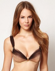 Made By Niki Membranes Plunge Underwired Bra