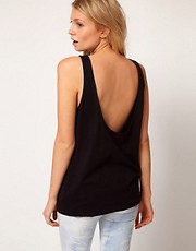 ASOS Vest Tunic with Scooped Out Back