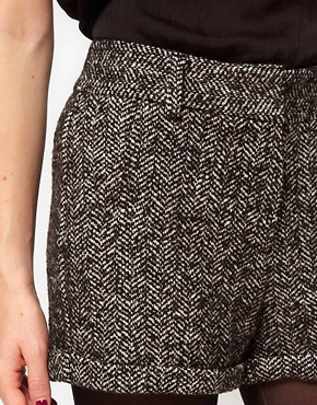 Image 3 ofASOS Tweed Shorts