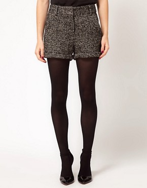 Image 4 ofASOS Tweed Shorts