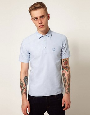 Image 1 ofFred Perry Laurel Wreath Overhead Oxford Shirt
